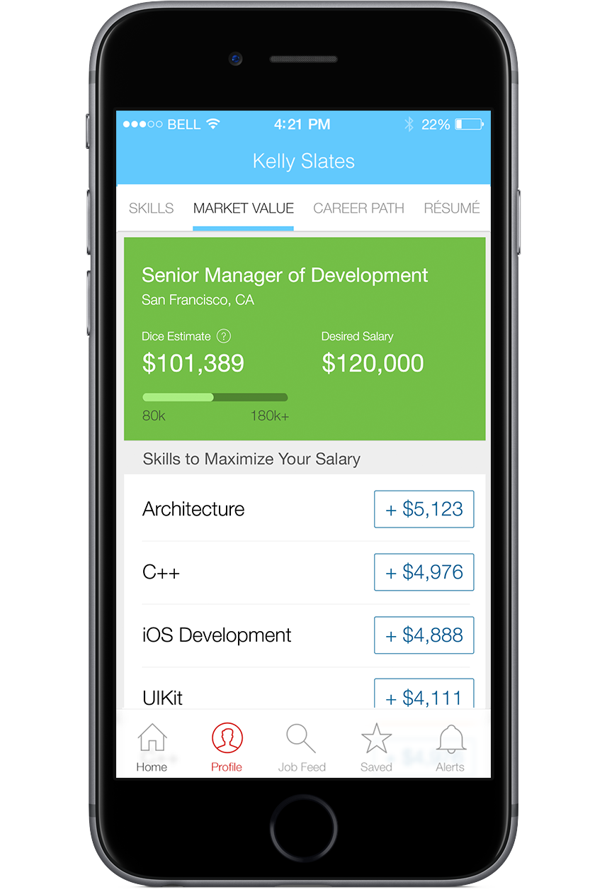 Dice Careers Mobile App | Dice Products